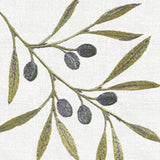 Anali Olive Linen Guest Towels