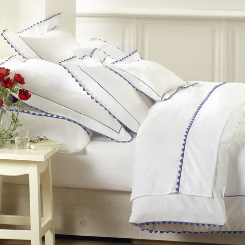 Peter Reed Waves Bedding - Light Blue