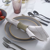 Sferra Festival Table Linens - Iron
