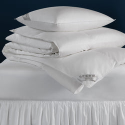 Sferra Buxton Goose Down Duvet Inserts & Pillows