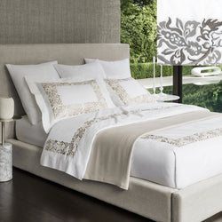 Sferra Saxon Bedding - Grey