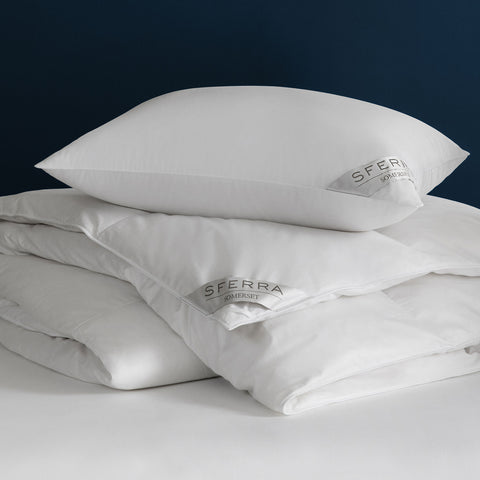 Sferra Somerset Down Duvet Inserts & Pillows