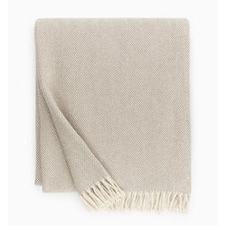 Sferra Celine Throw Blanket - Mushroom