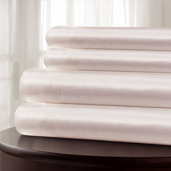 Mulberry Park Silks - Silk Charmeuse Sheet Set - Pink