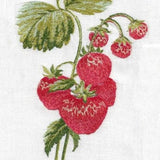 Anali Strawberry Linen Guest Towels