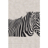 Anali Vector Zebra Linen Guest Towels