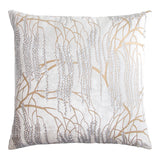 Kevin O'Brien Studio Metallic Willow Velvet - White