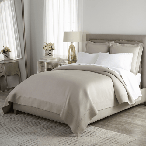 Peacock Alley Angelina Matelasse Bedding - Pearl
