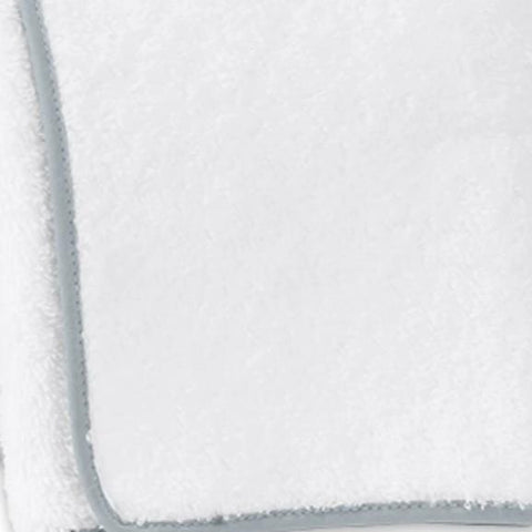 Matouk Cairo Bath Towels - White / Pool