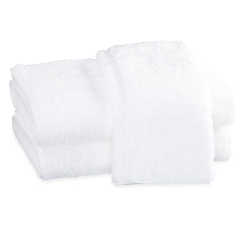 Matouk Cairo Bath Towels - White/White