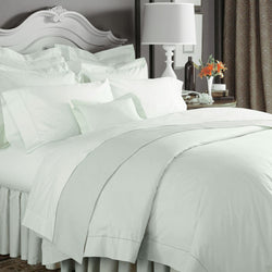 Sferra Celeste Bedding Collection - Silver Sage