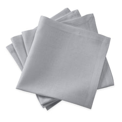 Matouk Chamant Table Linens - Silver