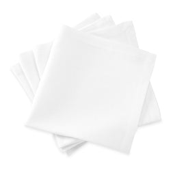Matouk Chamant Table Linens - White