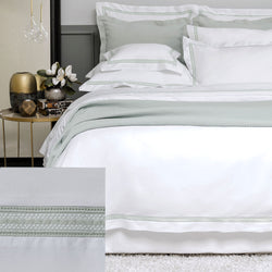 BOVI Devere Bedding - White / Dove