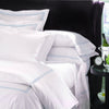 Sferra Grande Hotel Sheet Sets - White/Blue