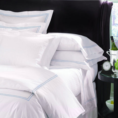 Sferra Grande Hotel Collection - White/Blue