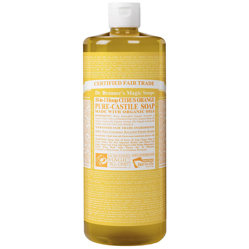 Dr. Bronner's Pure Castile Soap Citrus Pure, 946 mL - Breezily Inc.