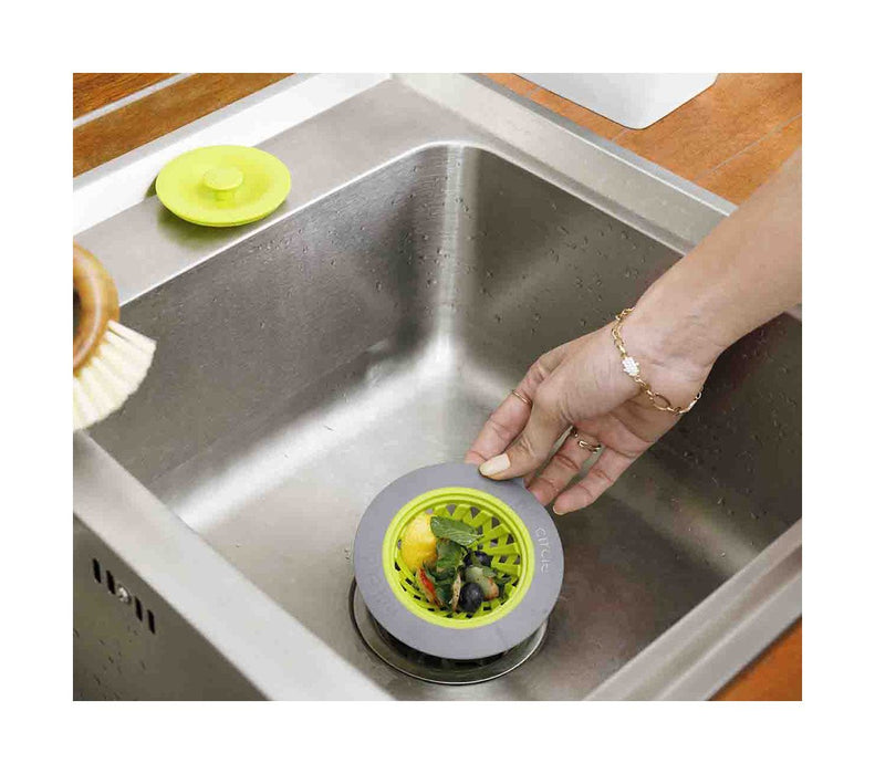 Full Circle Sinksational Sink Strainer Green - Breezily Inc.