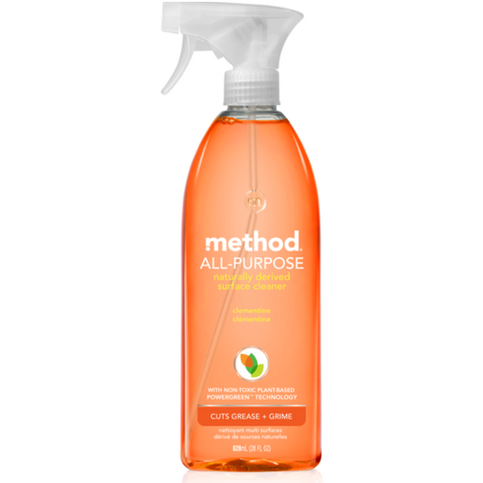 method All Purpose Cleaner Clementine, 828 mL - Breezily Inc.