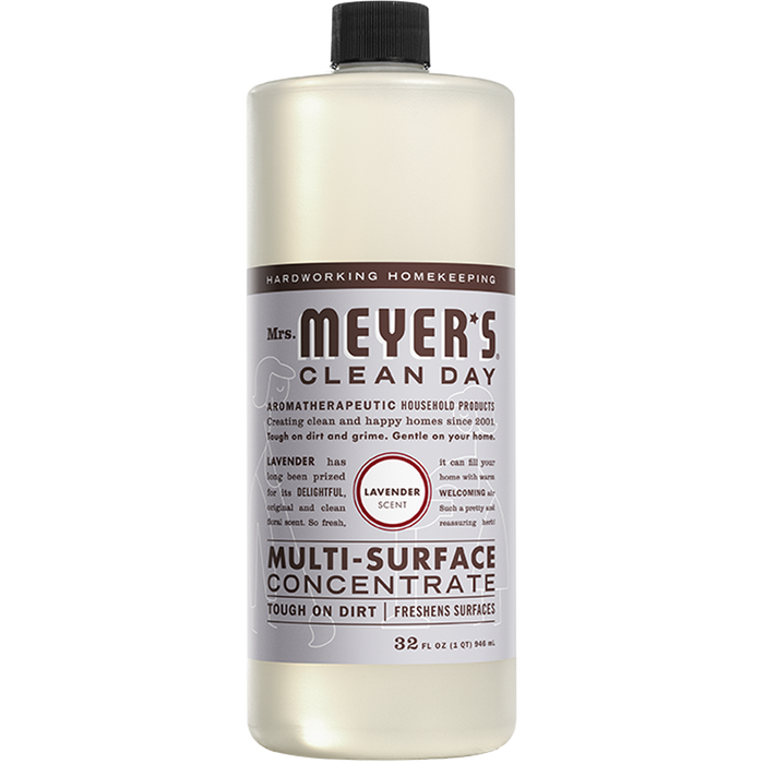 Mrs. Meyer's Multi-Surface Concentrate Lavender, 946 mL - Breezily Inc.