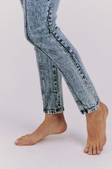 Barracuda Zipper Front & Back Jean, Acid