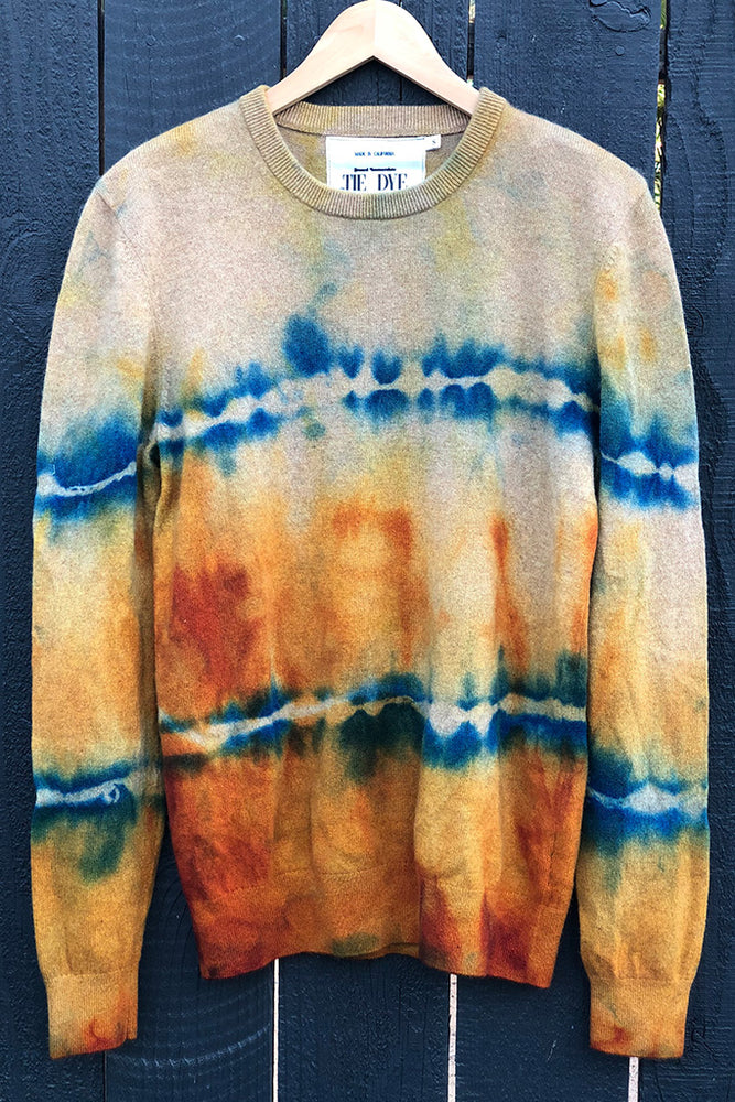 sunset crew cashmere sweater