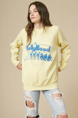 Hollywood Baby Oversized Sweatshirt