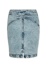 Thelma Denim Skirt Acid Wash