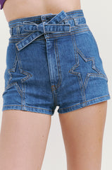 Super Star Denim Shorts in Filmore