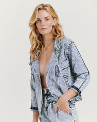 Benatar Denim Jacket Acid Wash