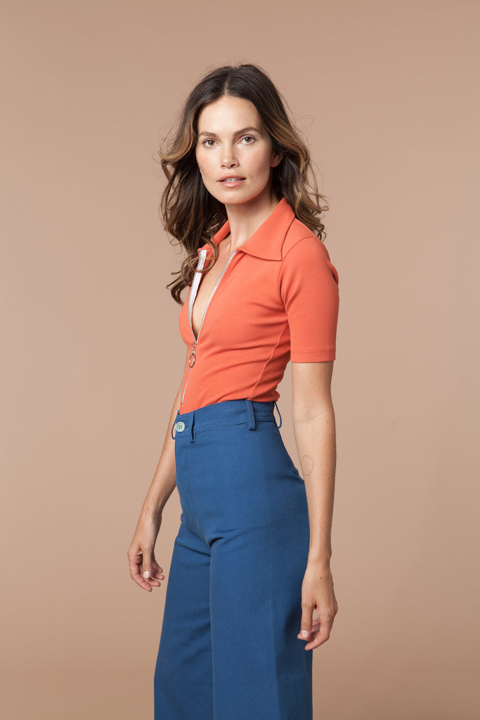 Jenny Sailor Pant in Blue