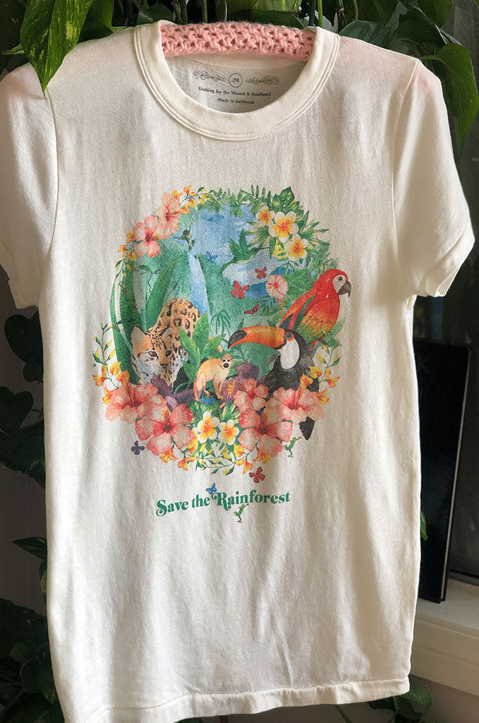 Save The Rainforest Crew Tee