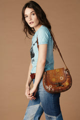 Sunset Trip Leather Bag