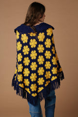 Haight Ashbury Crochet Poncho