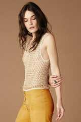 Crazy Horse Crochet Beaded Tank