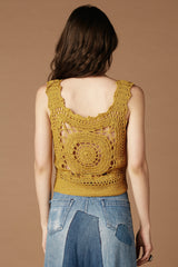 Sunshine Of Your Love Crochet Tank