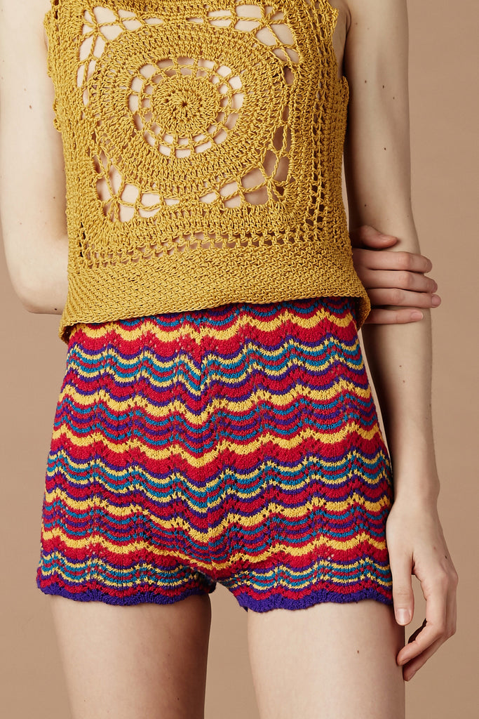 Taxi Driver Crochet Shorts Stoned Immaculate Clothing