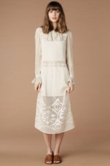 Castles Made Of Sand Crochet Dress