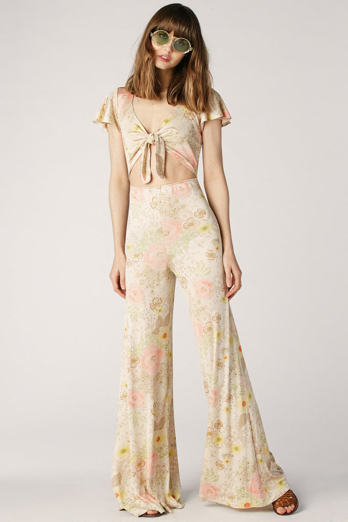 75edd9bd1785 Bianca Silk Jumpsuit in Blossom – Stoned Immaculate Clothing