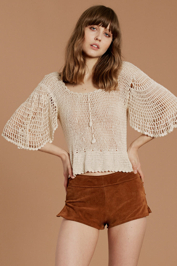 Go Your Own Way Crochet Top