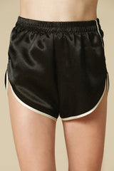 High School Lover Gym Shorts in Black