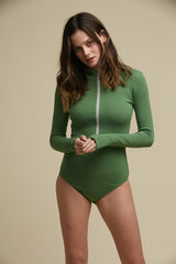 Moffitt Turtleneck Bodysuit Forrest