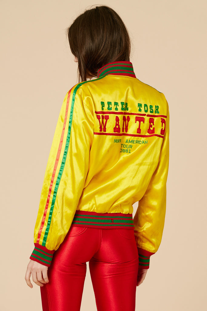 Rolling Stones x Peter Tosh 1981 Tour Jacket