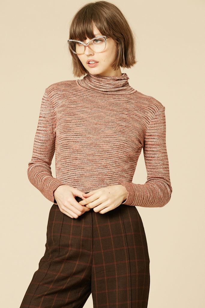 Sandstorm 70's Lurex Turtleneck