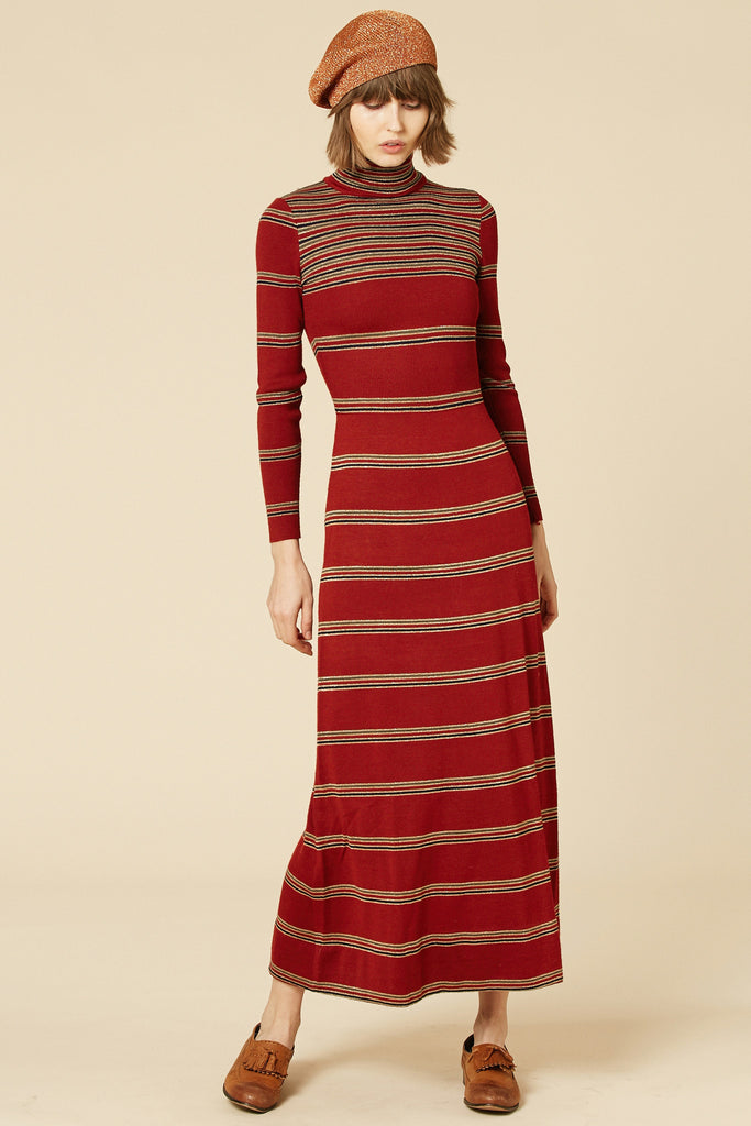 Goodbye Ruby Tuesday 70's Lurex Dress
