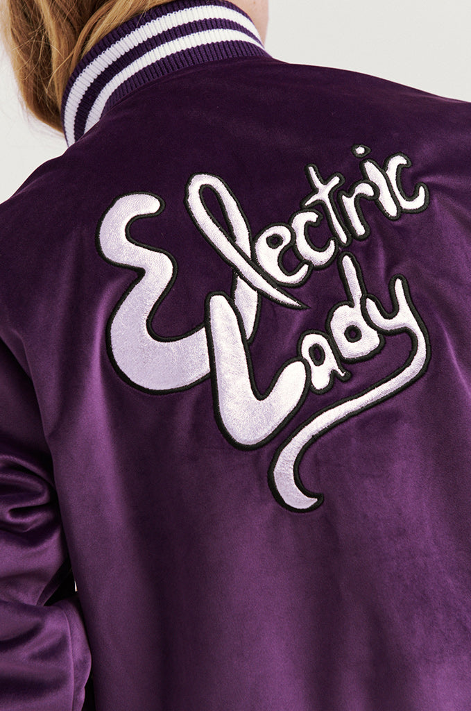 Jimi Hendrix Electric Lady Bomber Jacket