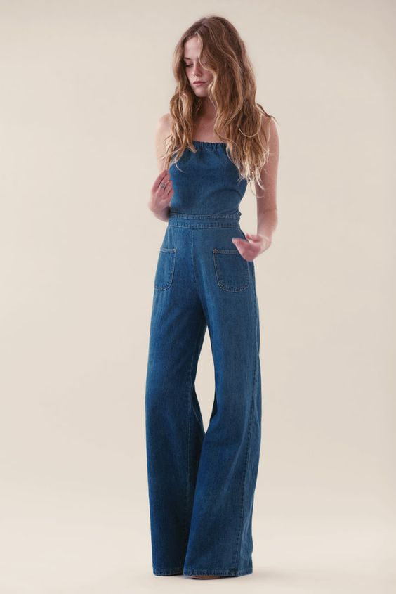 Jean Genie Denim Jumpsuit Filmore Wash Stoned Immaculate Clothing