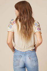 Wild One Forever Peasant Blouse