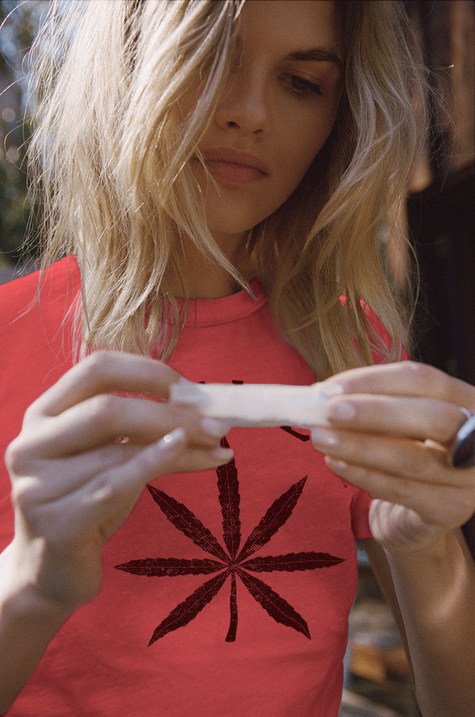Legalize it Tee Red