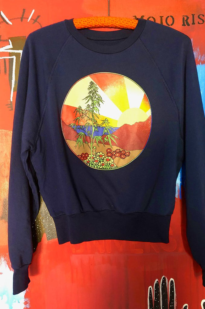 high times sweatshirt in navy
